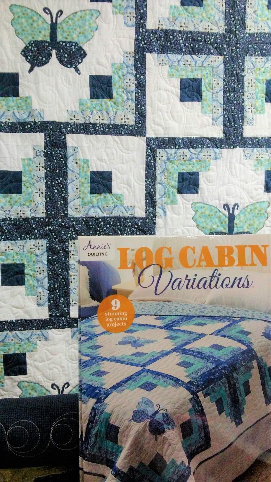 log cabin book