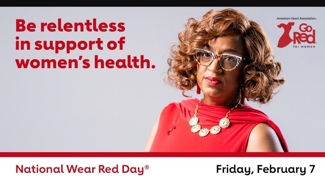 wear red 2020