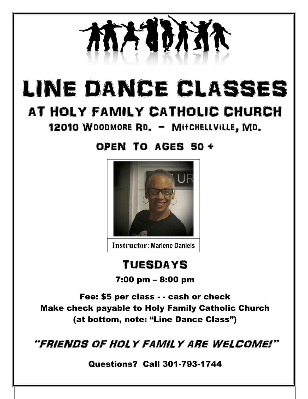 Line Dance Classes spotlight