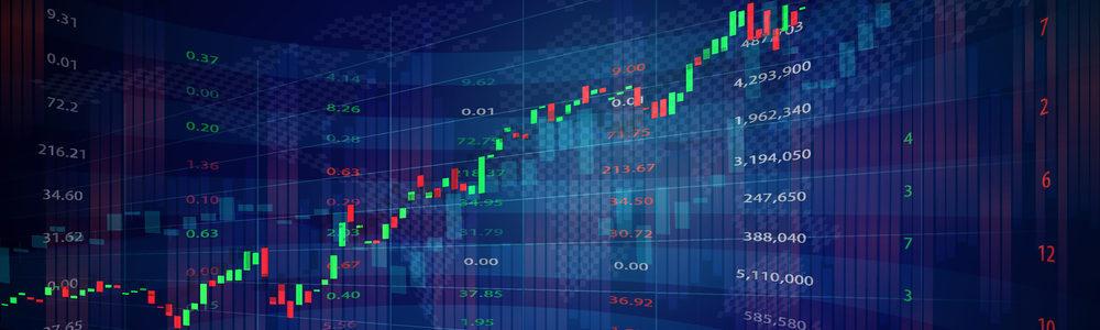 TSE stock market graph hero