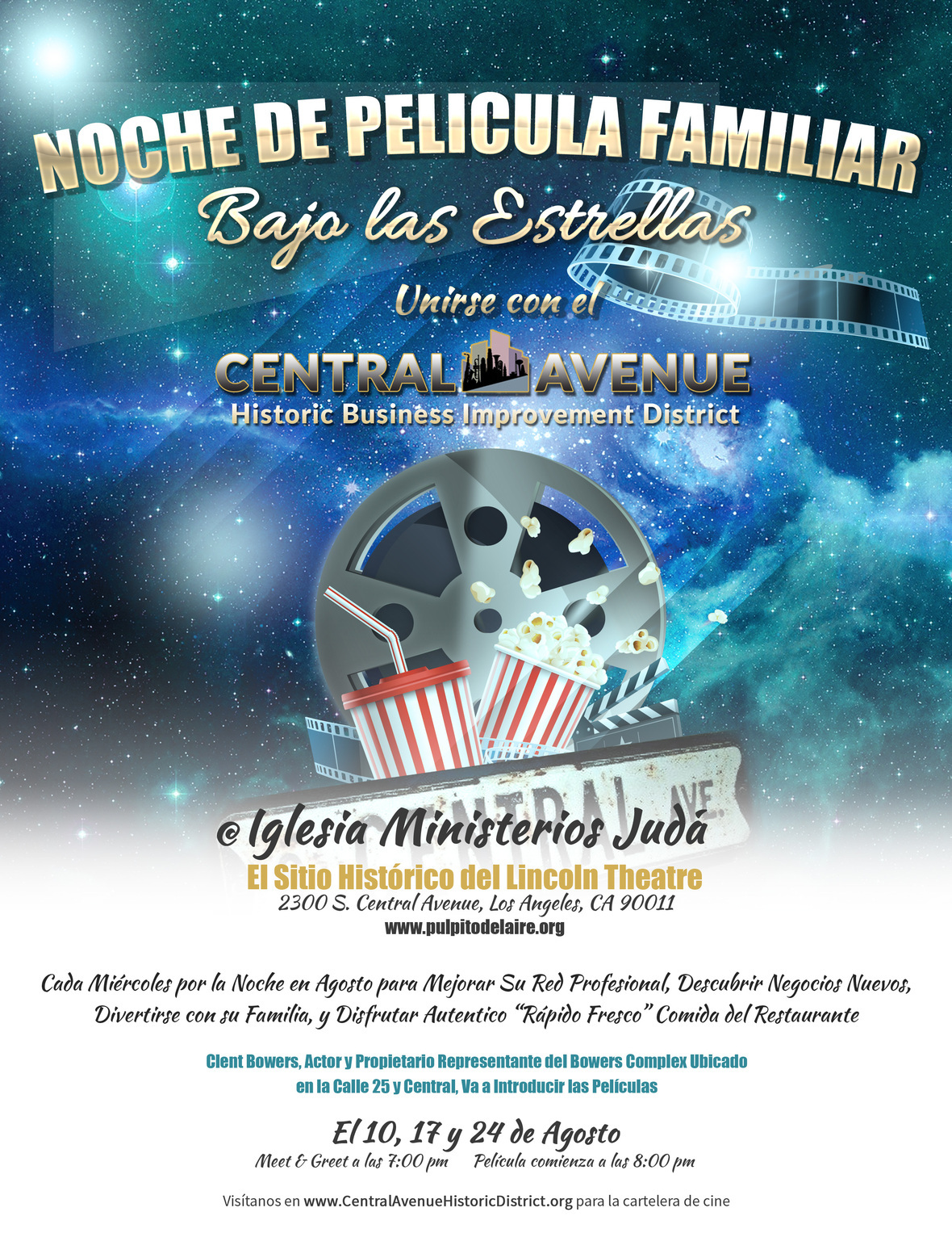 Movie Night Flyer2 Spanish - Final