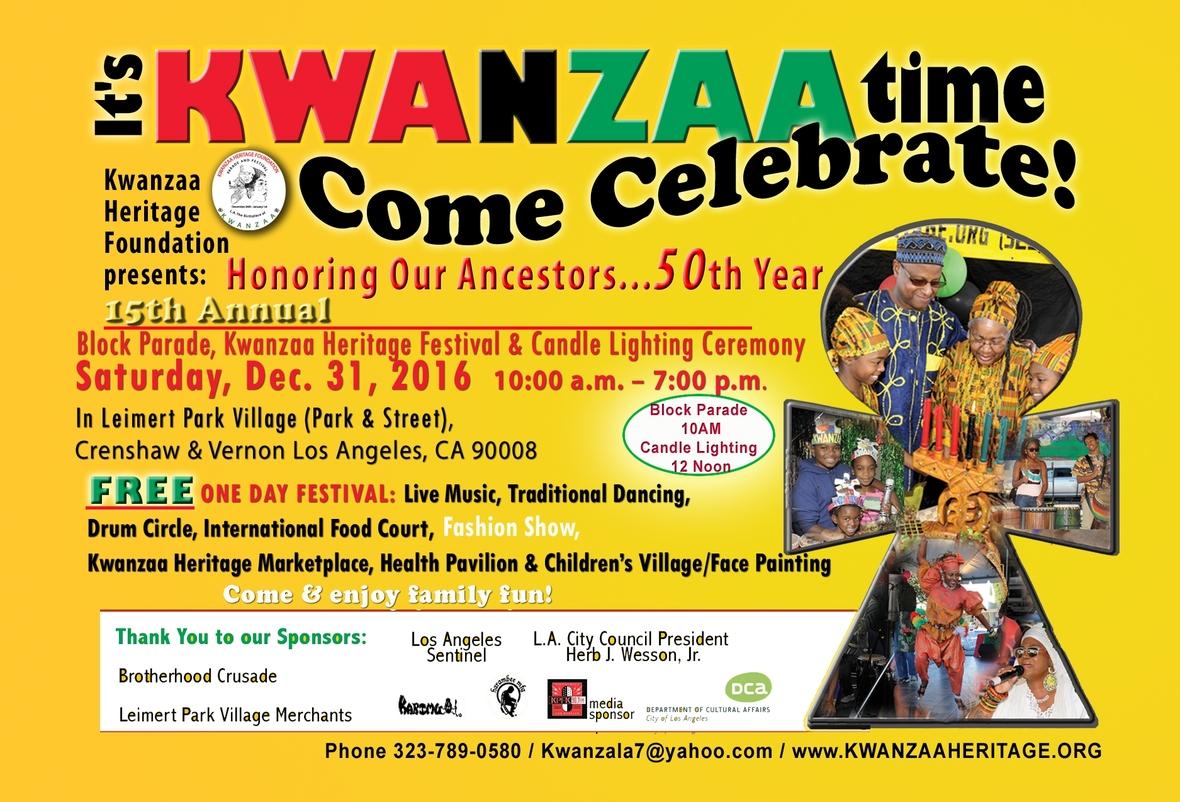 Kwanzaa Festival 2016