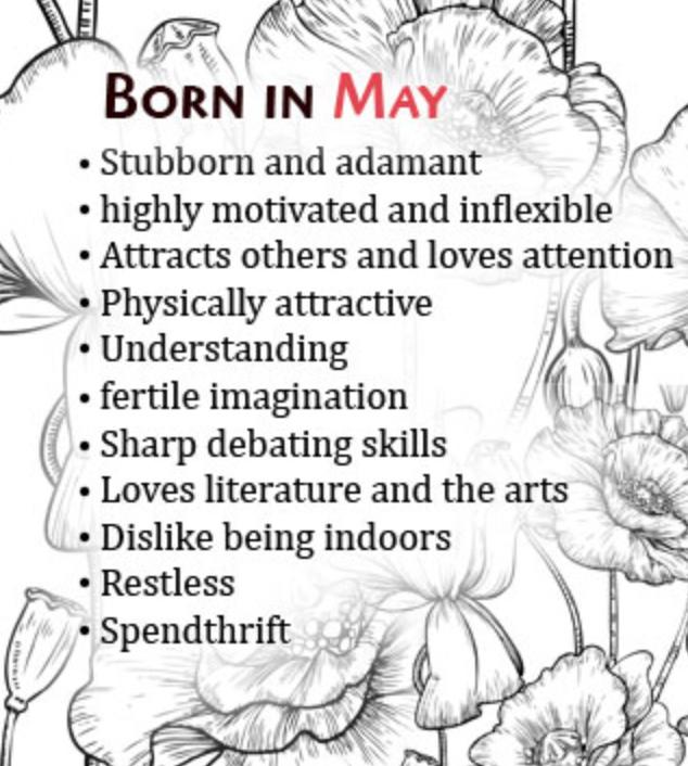 may born