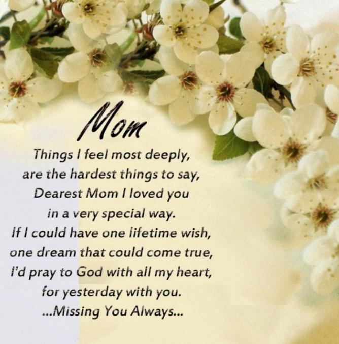 mom poem missing