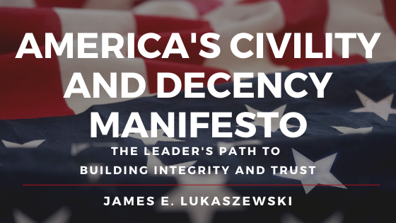 America s Civility and Decency Manifesto header banner image without Steve s name