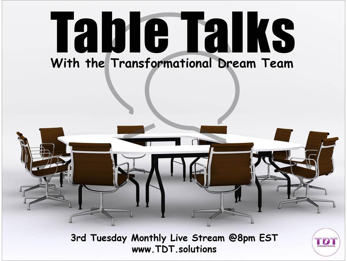 TDT Table Talks Logo