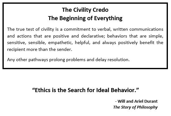 Civility Credo  1