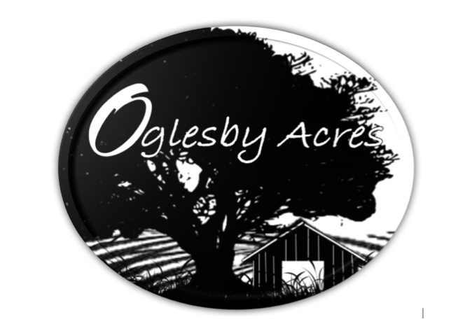 Oglesby Acres Logo - Background