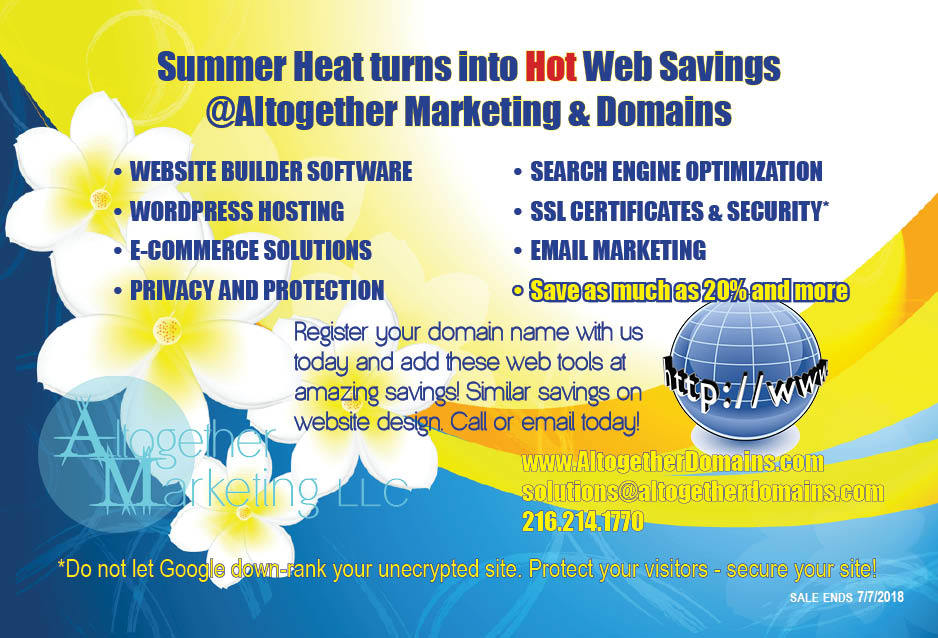 Summer Heat Web Savings 2018