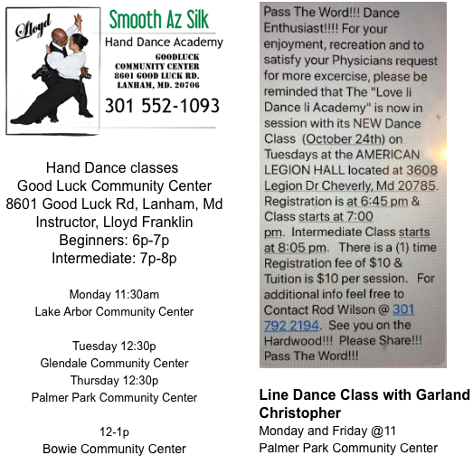 hand dance classes