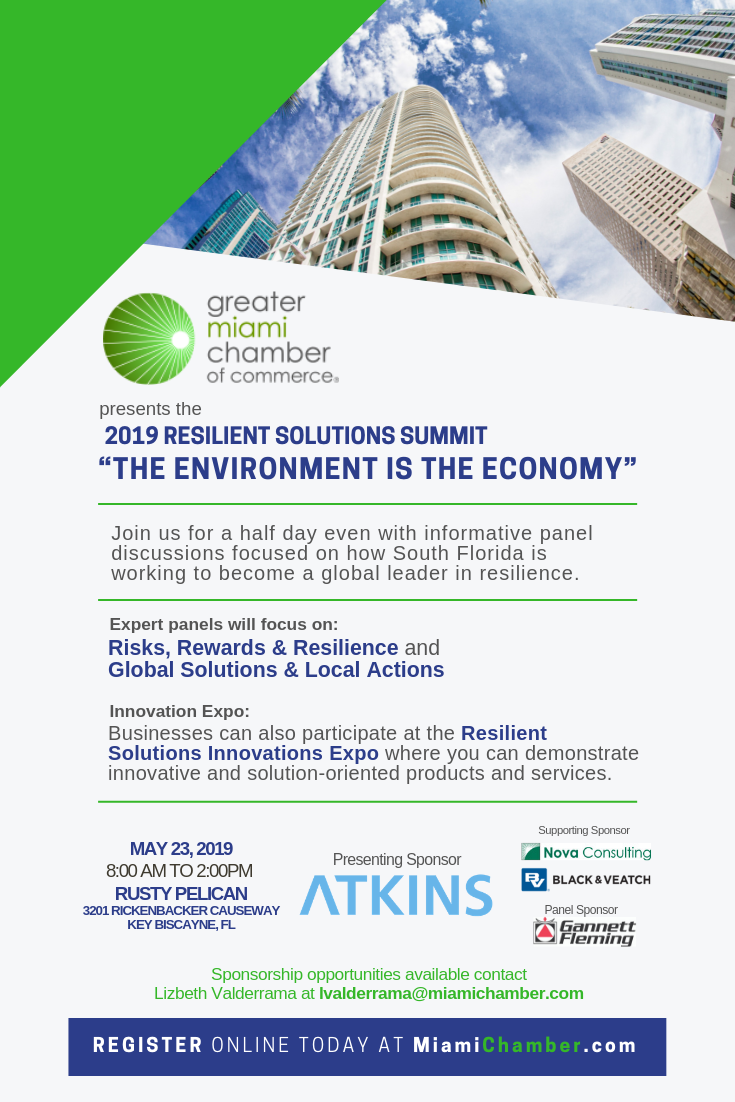 Invite - THE 2018 RESILIENT SOLUTIONS SUMMIT BUSINESS EXPO 1