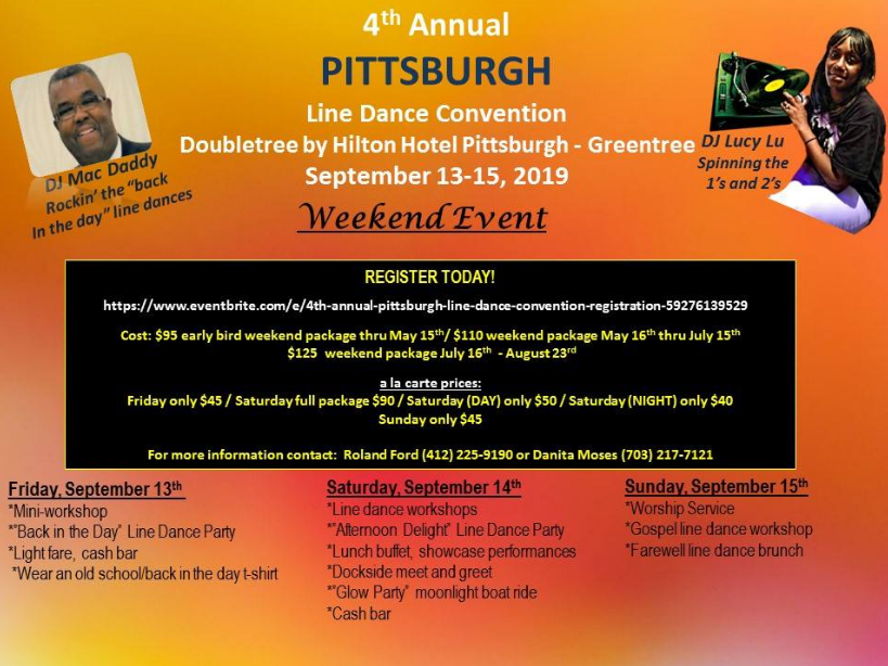 Pittsburgh Line Dance Event 2019